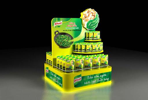 Chuyên sản xuất quầy kệ quảng cáo cho các nhãn hàng tại Đắk Nông