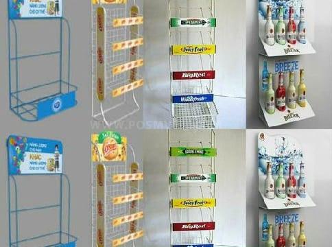 Chuyên thiết kế quầy kệ quảng cáo giá rẻ tại Lâm đồng