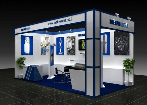 Chuyên sản xuất gian hàng triển lãm  giá rẻ tại Phú Thọ