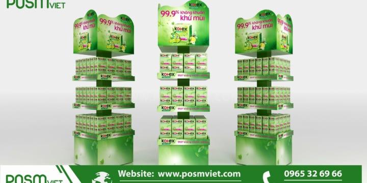 Dịch vụ chuyên sản xuất Posm, quầy kệ giá rẻ tại Thanh Hóa