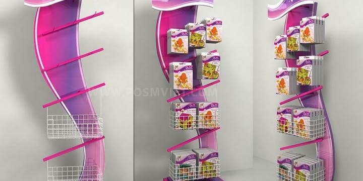 Xưởng chuyên thiết kế Posm, booth, quầy kệ giá rẻ tại Bắc Ninh